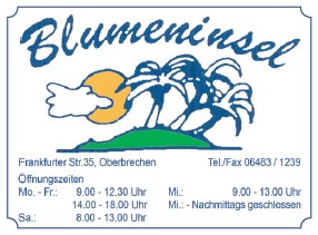 Report Blumeninsel klein